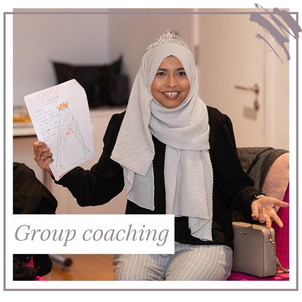 Life Coach Aliya Rajah - group coaching